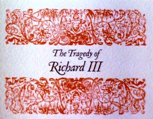 an analysis of the tragedy of richard iii Four centuries later, the masterful conclusion of shakespeare's henriad history   it's amazing to think we began [the henriad cycle] in 2013 with richard ii.
